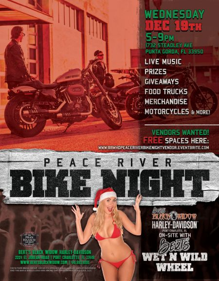 December Peace River Bike Night