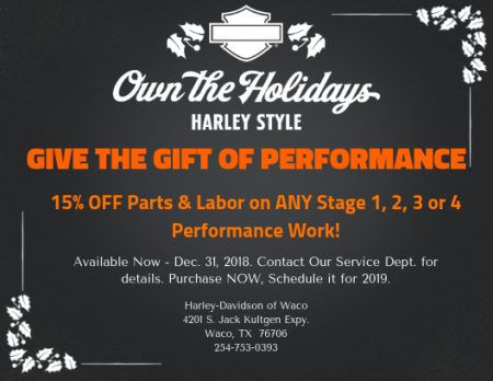 The Gift of Performance