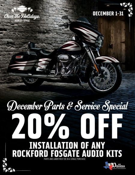 December Service Special