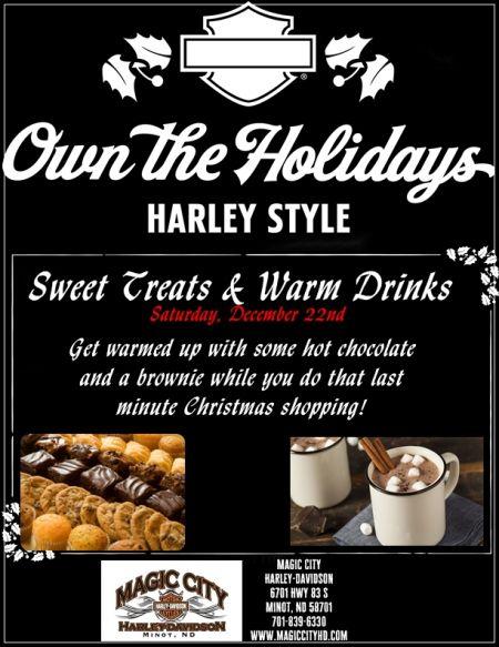 Sweet Treats & Warm Drinks