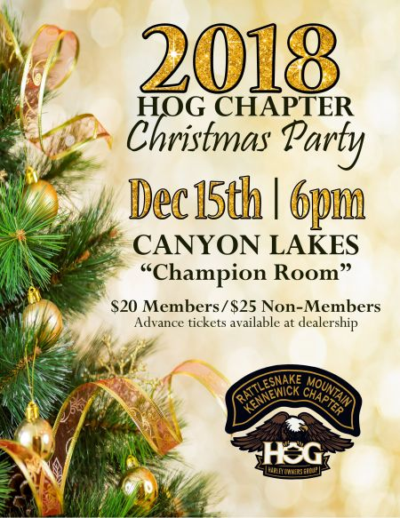 RMHD HOG Chapter 2865 Christmas Party