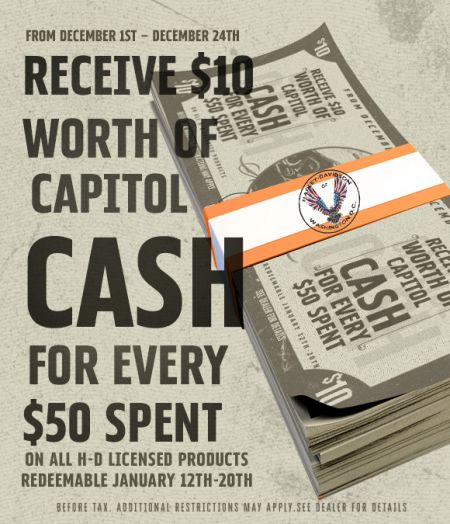 Capitol Cash!