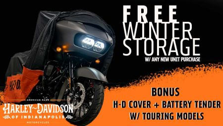 Free Winter Storage
