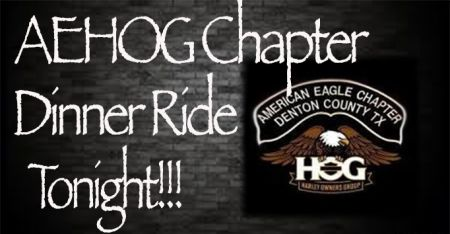 AEHOG Dinner Ride To Horney Toad Cafe