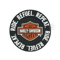 Ride, Refuel, Repeat B&S PVC Magnet