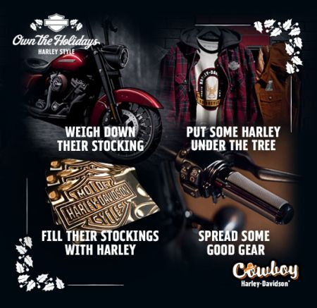 Own the Holidays, Harley Style!