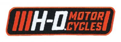 Embroidered Traction H-D Emblem Patch