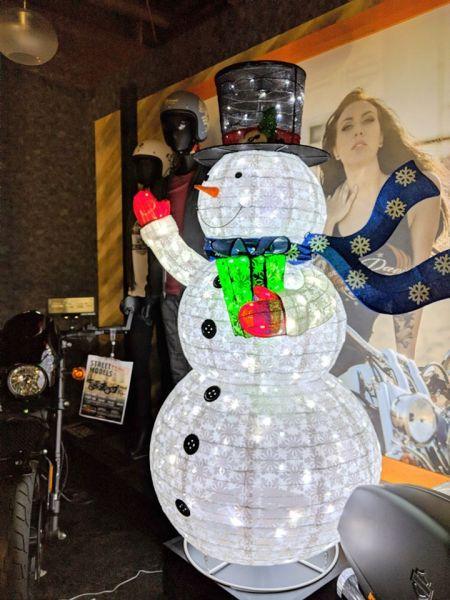 H-D SAKURAIクリスマスモード!
