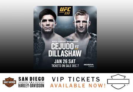 UFC 233 Fight Night!