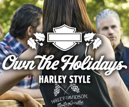 IT'S A VERY HARLEY® CHRISTMAS!