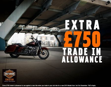 EXTRA £750 TRADE IN ALLOWANCE!