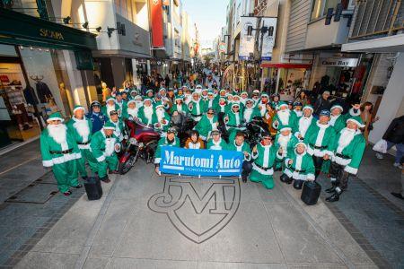 クリスマスパレード、ザ・クラブハウス横浜ベイ集合です。