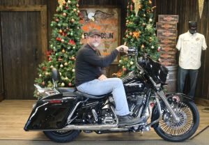 Craigs new Street Glide Special!