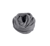 SCARF-INFINITY,WOOL BLEND,KNT,