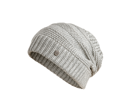 HAT-SLOUCH,KNT,GRY