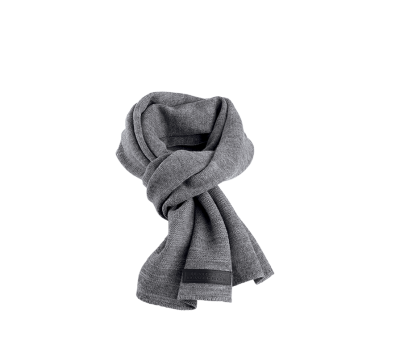 SCARF-WOOL BLEND,KNT,GRY