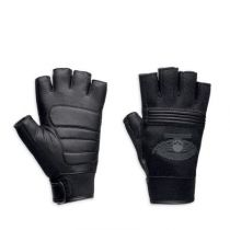 HARLEY-DAVIDSON WINGED SKULL MEN'S FINGER-LESS GLOVES