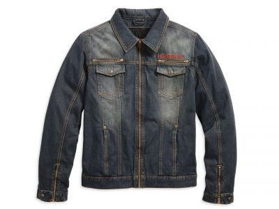 HARLEY-DAVIDSON MEN'S JEANSJACKET DISPATCH DENIM RIDING