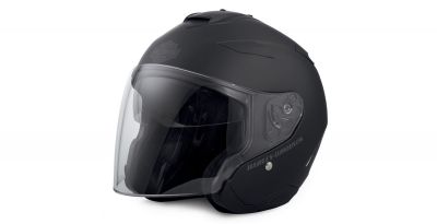 MAYWOOD INTERCHANGEABLE SUN SHIELD 3/4 HELMET