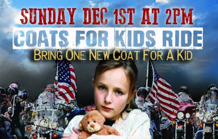 COATS FOR KIDS RIDE 2019