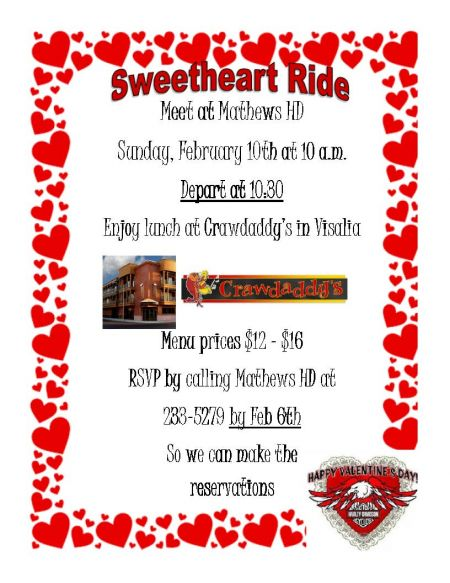 Sweetheart Ride