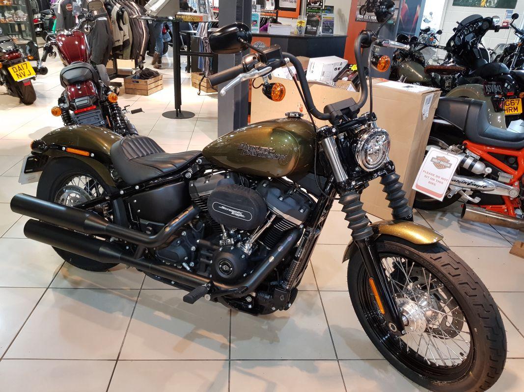 Harley-Davidson FXBB Street Bob 107 2017
