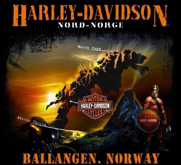 Harley-Davidson<sup>&reg;</sup> Nord-Norge