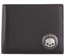 Skull Concho Bifold novčanik
