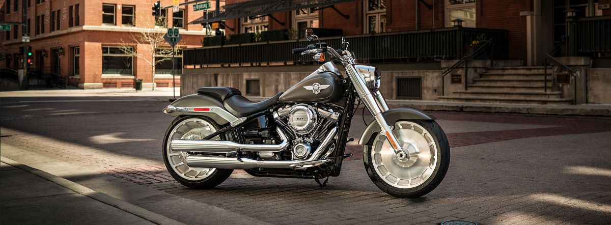 2019 HD FLFB - Softail Fat Boy<sup>®</sup>