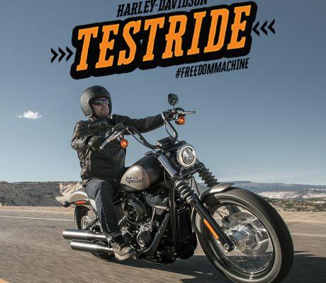 Book a test ride