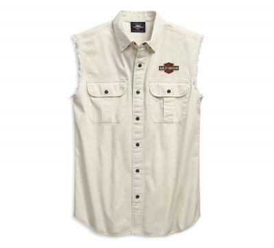 Men's sleeveless shirt - engine blowout