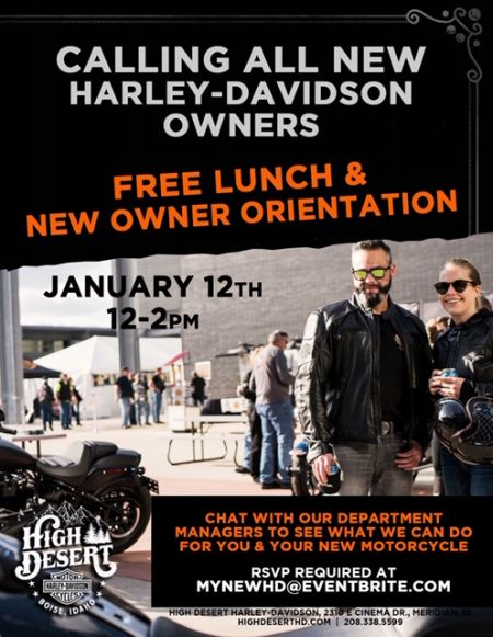 Calling all NEW Harley-Davidson OWNERS