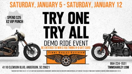 Demo Ride to WIN