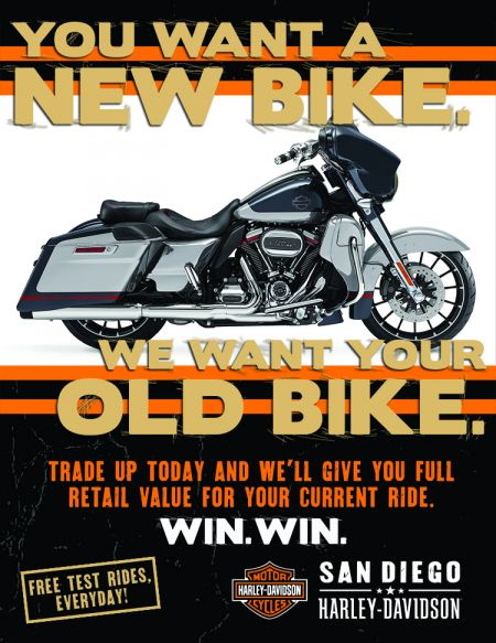 You Want A New Bike. We Want Your Old Bike.