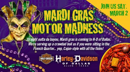 Mardi Gras Motor Madness