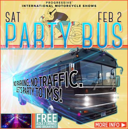 Party bus to the IMS