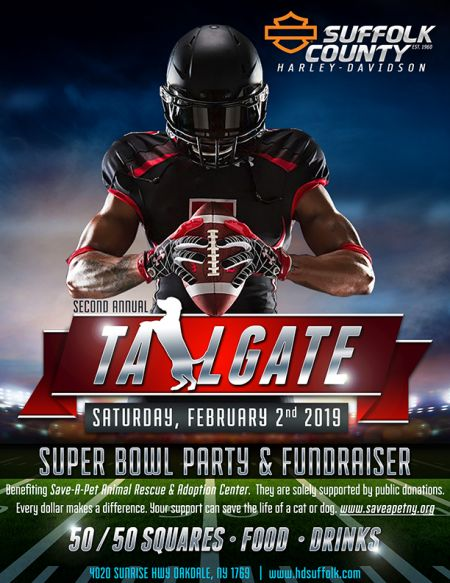 Super Bowl Tailgate Part & Fundraiser