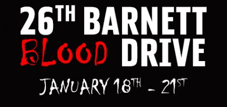 26th Barnett Blood Drive