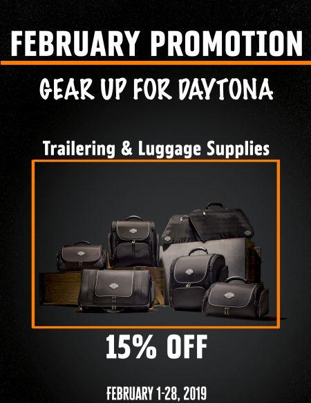 February Parts Promo