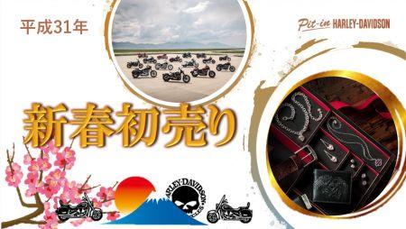 平成最後の 新春初売り 試乗・商談会