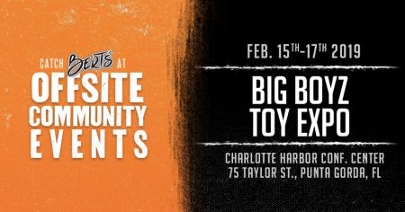 Bert's @ Big Boy Toyz Expo