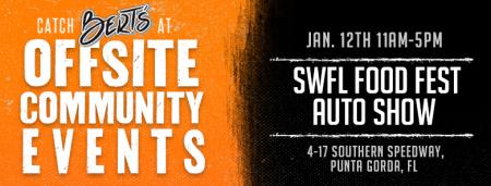 Bert's @ SWFL Food Fest & Auto Show