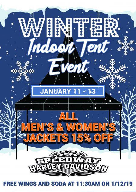 Winter Indoor Tent Event