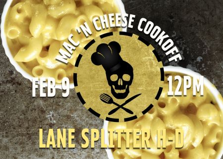 Mac N Cheese Cookoff