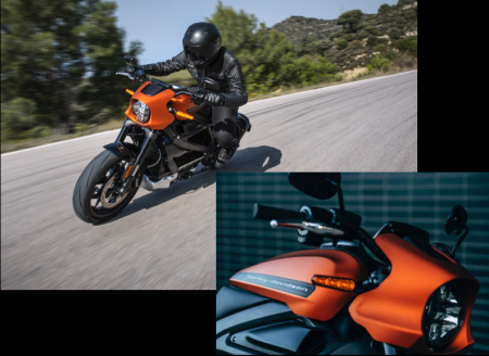 Harley-Davidson LiveWire Announcement at CES in Las Vegas, NV