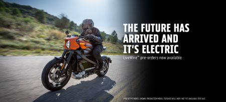 LiveWire. Harley-Davidson Electric Motorcycle.