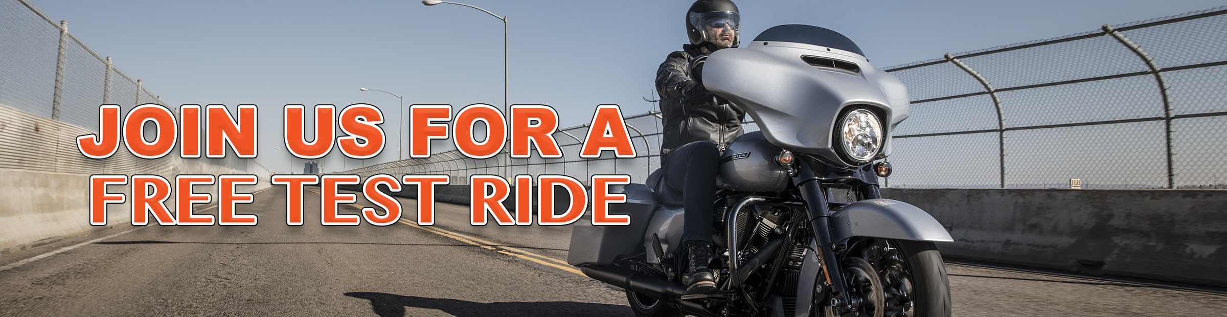 Take a Free Test Ride - take yours today