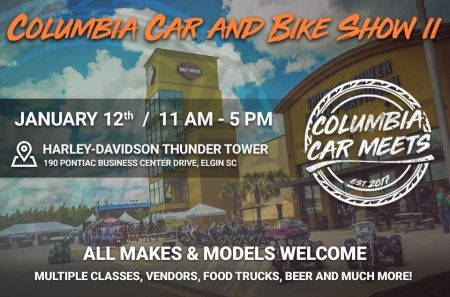 Columbia Car and Bike Show | Thunder Tower Harley-Davidson®
