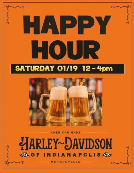 H-D of Indy Happy Hour