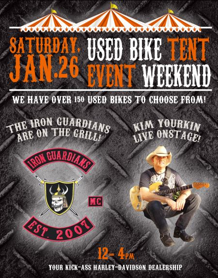 Used Bike Tent Event